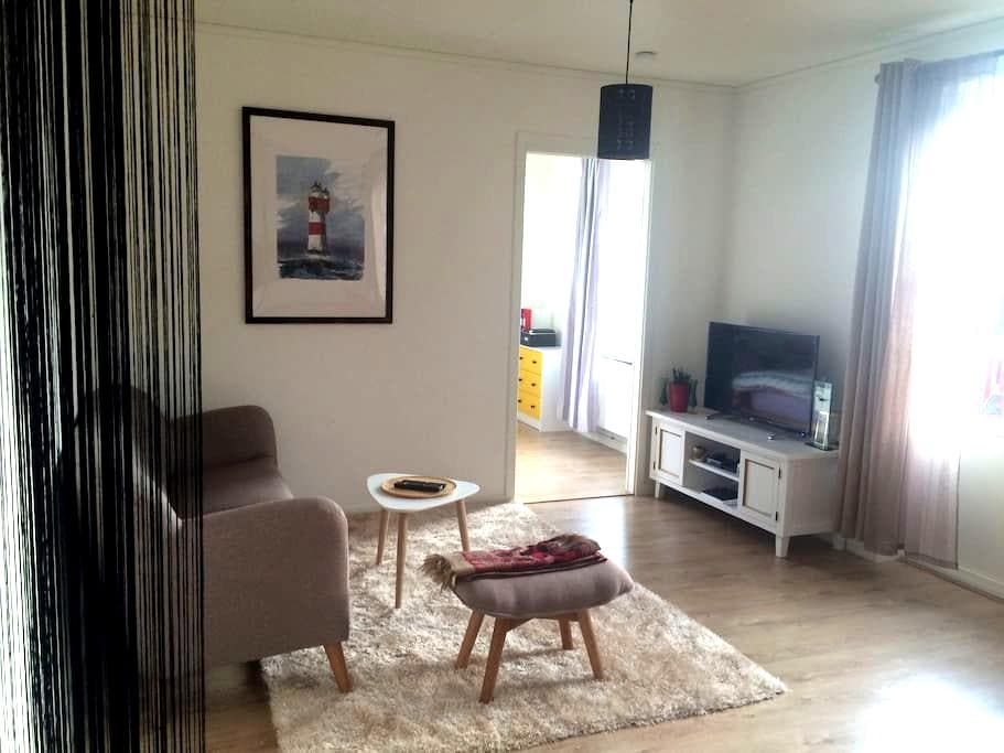 Cozy room in newly build Apartment - Huddinge - Townhouse