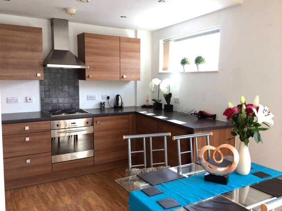 City centre room with private bath - Manchester - Appartement