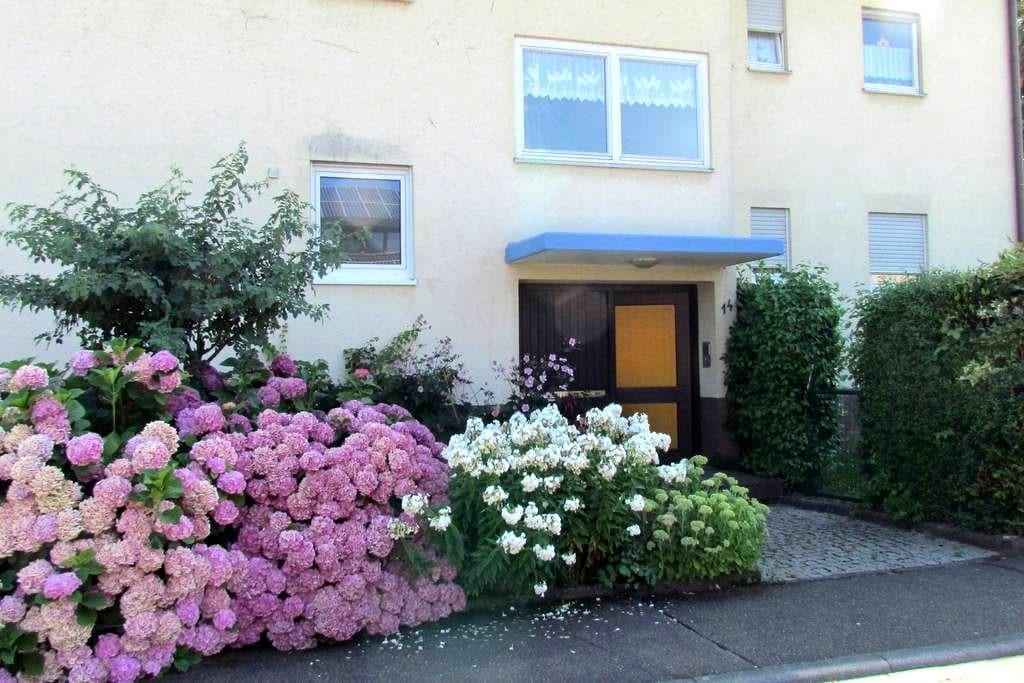 Beautiful apartment near Europapark - Lahr/Schwarzwald - Appartement