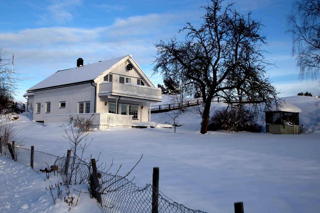 Winterwonderland or summer paradise? - Sande - Haus