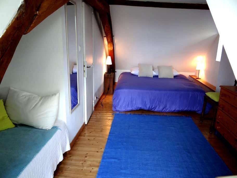 Moulin Géant (chambre nid d'aigle) - Rochefort-sur-Loire - Дом