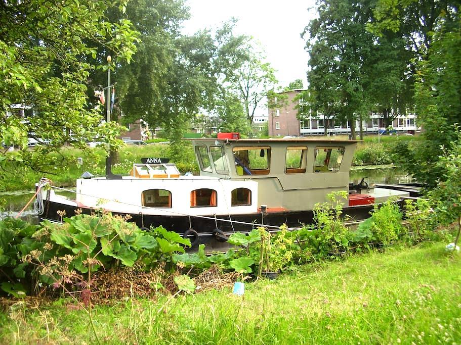 Sleepboot de 'Anna' uit 1927 - Utrecht - Hajó