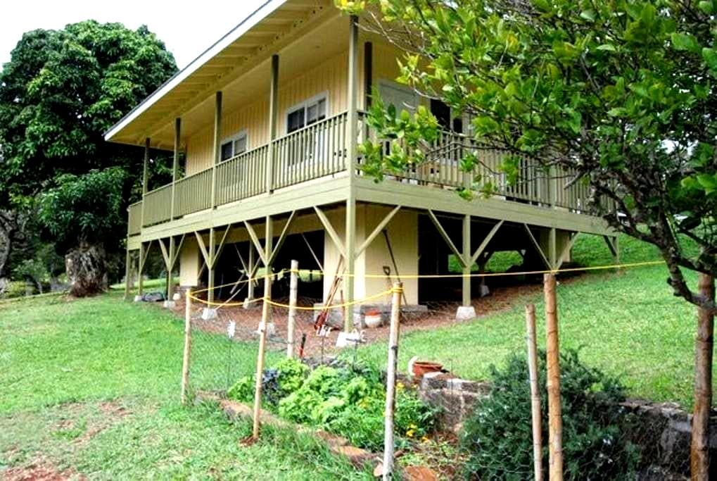 1BR Plantation Cottage on the hill - Lanai City