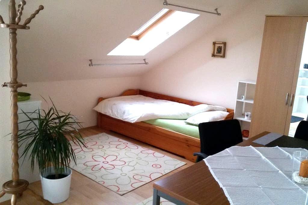 Ruhiges Zimmer mit Sternenblick - Alsdorf - Apartamento