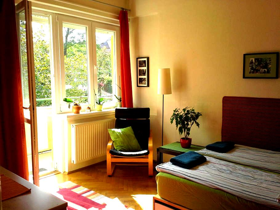 Bright double room for rent in the heart of Buda - Budapeste