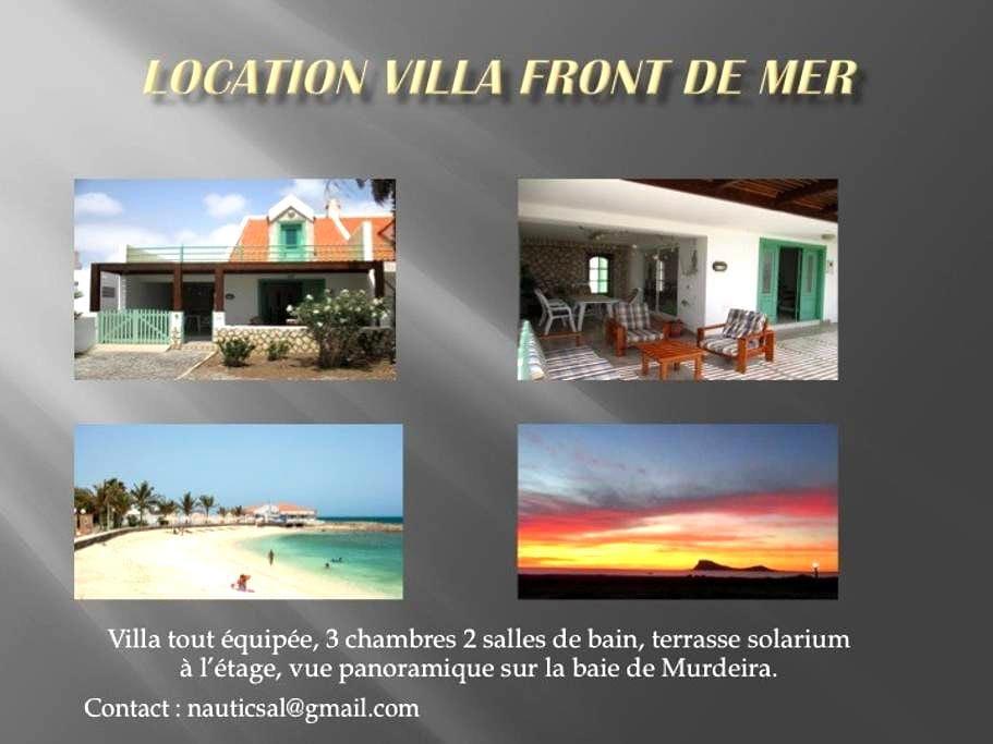 villa front de mer - Murdeira - Villa