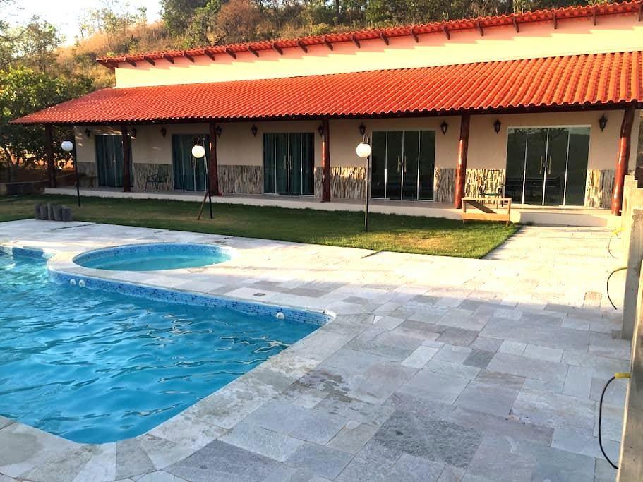 Suites para temporada em casa de campo - Pirenópolis