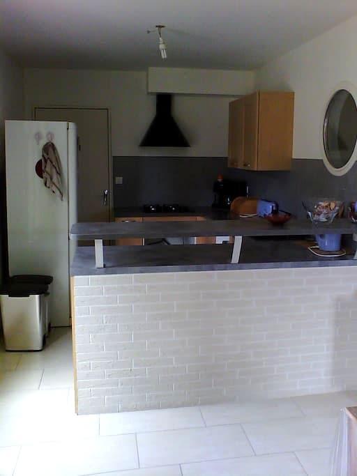 chambre lit double - Nantes - House
