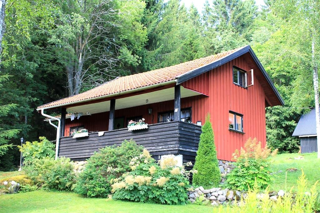 Quiet and lovely place near lake - Filipstad - Casa