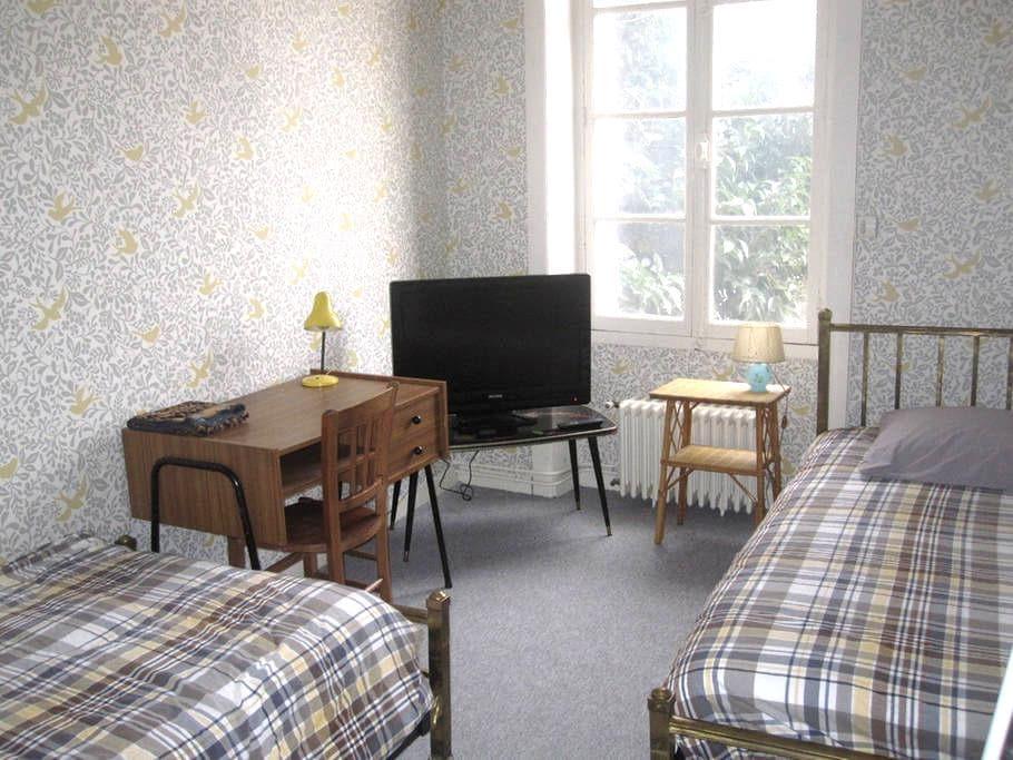Chambre d'amis Maison de Charme proche gare/centre - Rennes - Maison