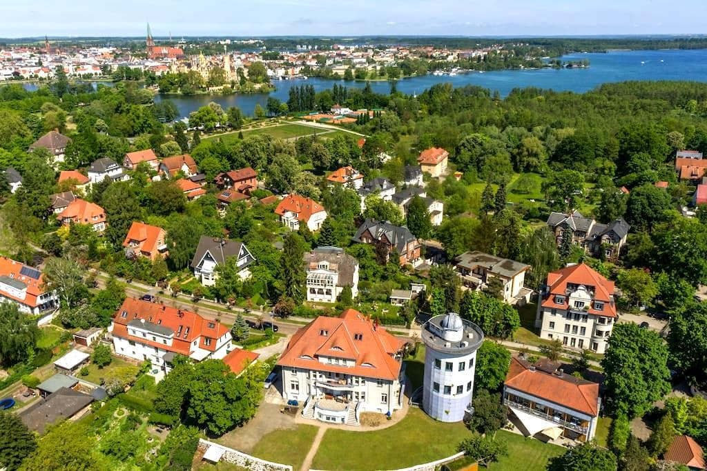 Traumhaft mit See- und Schlossblick - Schwerin - Apartment