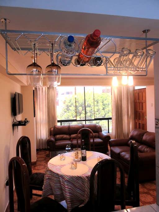 Alquiler apartamento Amoblado cusco - Cusco - Daire
