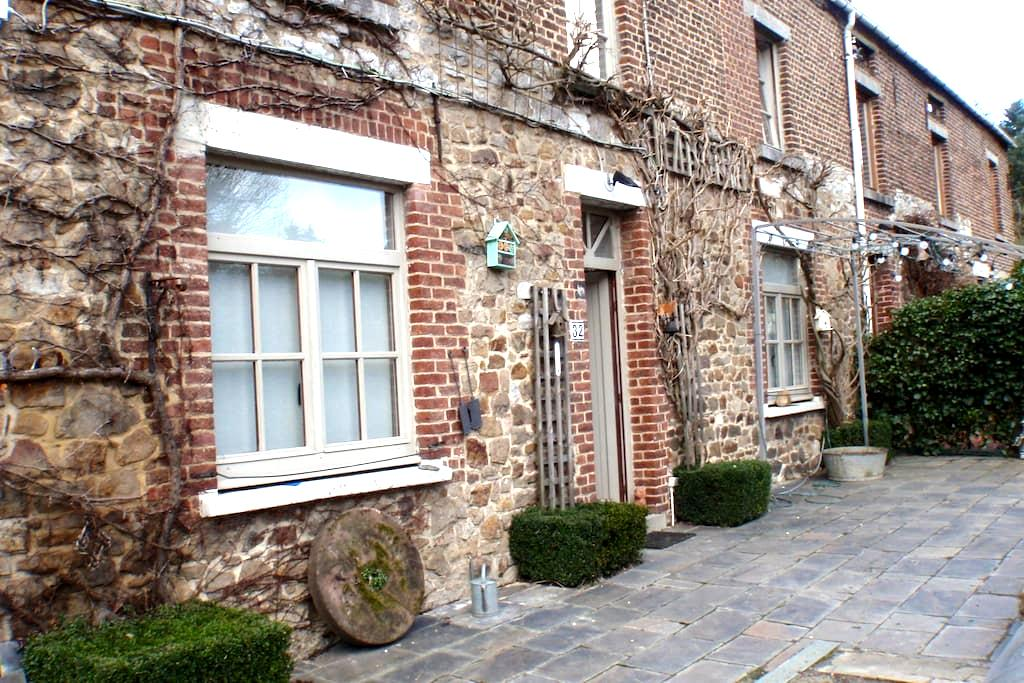 la maison au bout du chemin - Ham-sur-Heure-Nalinnes - Rumah