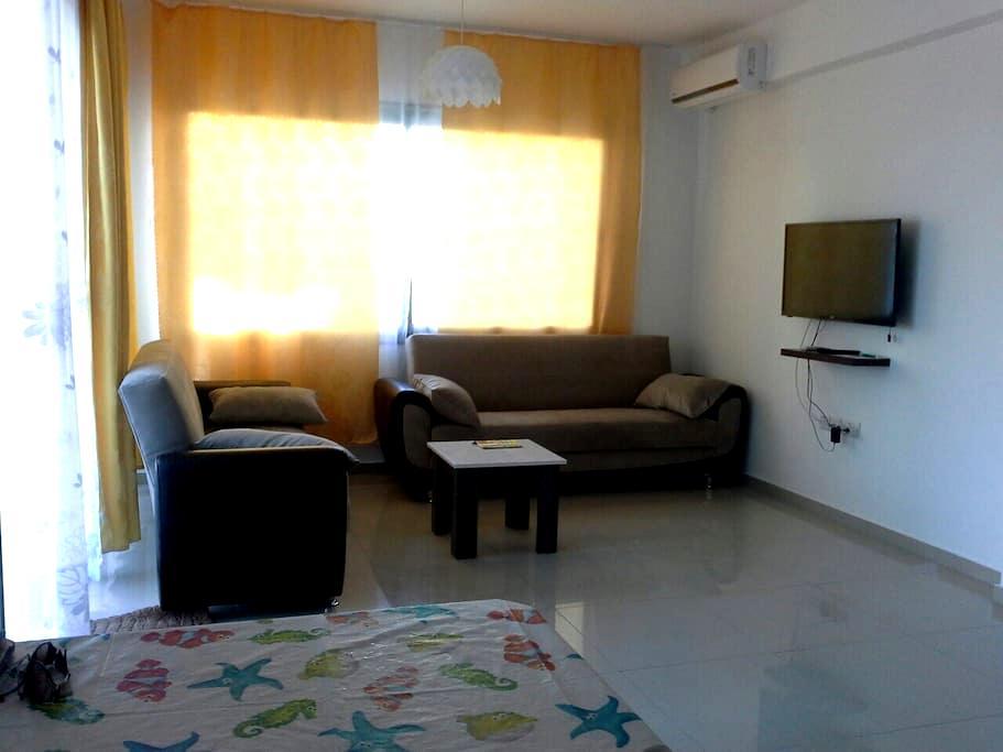 1 bedroom + studio 5 mins walk from the sea - Karaoğlanoğlu - Flat