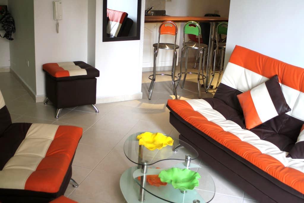 Medellín - Apartamento privado en Envigado (4pers) - Envigado