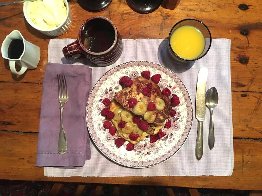 The Purple Chef's House - Brattleboro - Bed & Breakfast