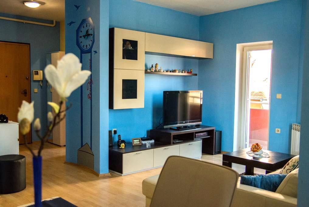 Apartment Giro, 4 stars, near Arena, free garage - Záhřeb - Byt