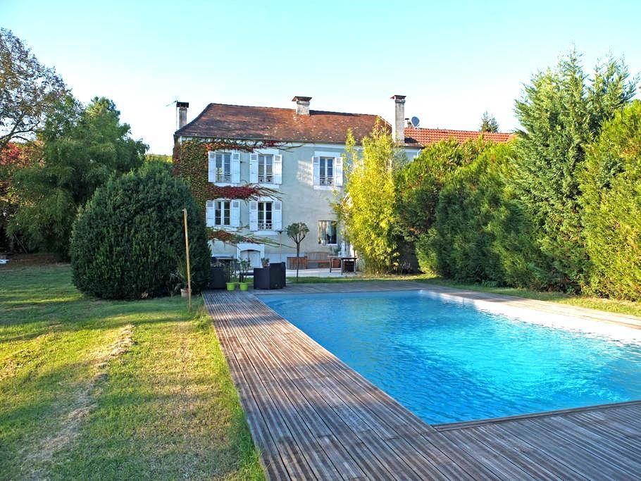 La Roseraie - Cubjac - บ้าน