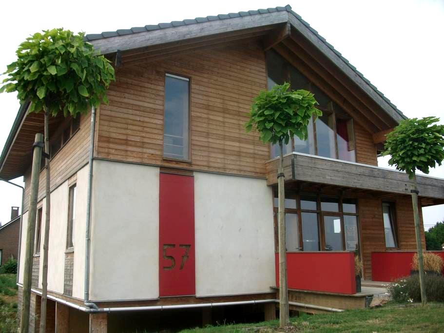 Strawbale vacationhouse - Tongeren/Maastricht - Riemst - Apartament
