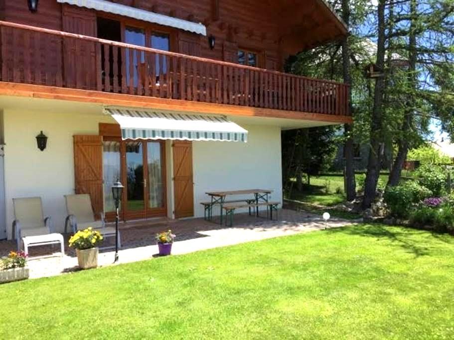 Nouveau, Studio dans chalet bois à Valberg - Guillaumes - Wohnung