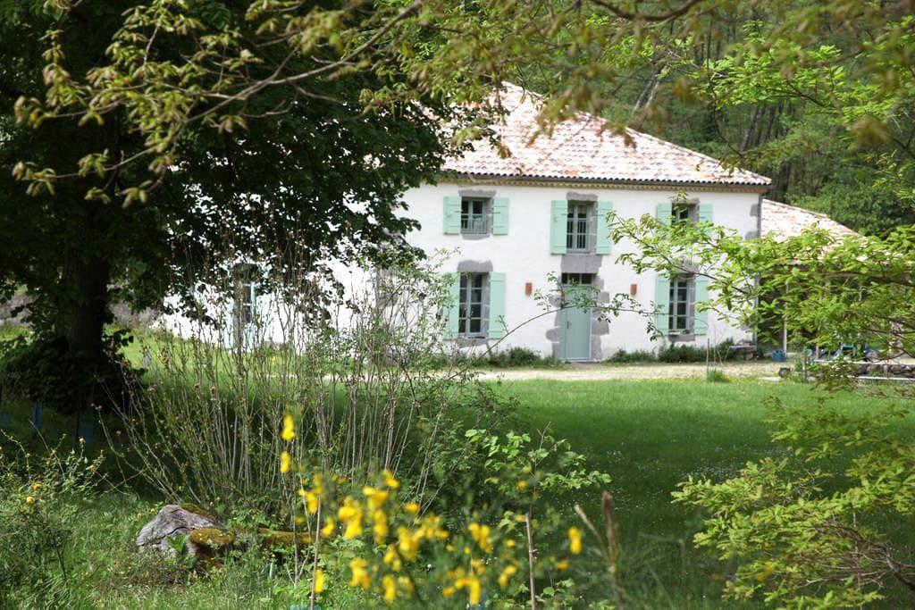 Moulin de Caillerot, vue sur jardin - Caubeyres - Σπίτι