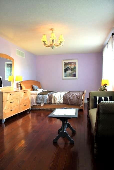 Master room/ensuite bath nearby Lake Simcoe - Barrie - Huis