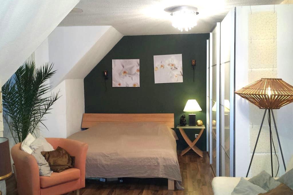 Modernes Gästezimmer in Saarbrücken - Talstraße  - House