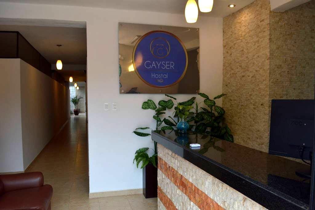 HOSTAL GAYSER IND - Valladolid - Asrama