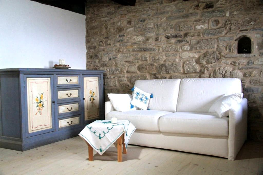 Appartamentino rustico a Villa Maindi - Pennabilli