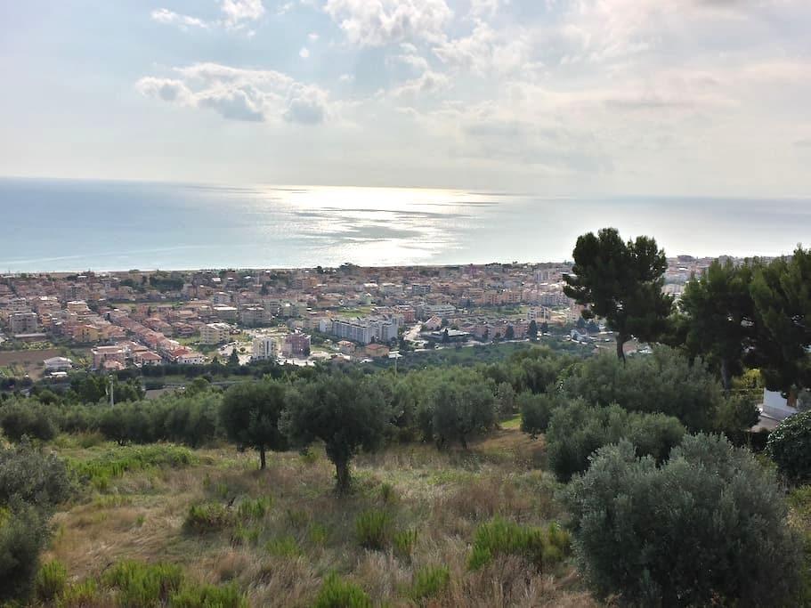 Sea view flat - appart. vista mare - Tortoreto - Lejlighed
