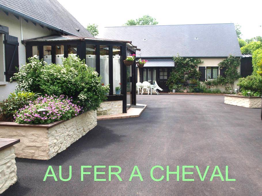 gîte entre cabourg et deauville - Beaufour-Druval - Huis