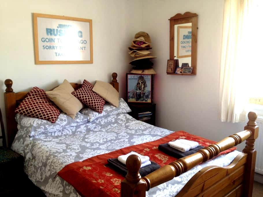 Bright double room in town centre - Bridport - Pis