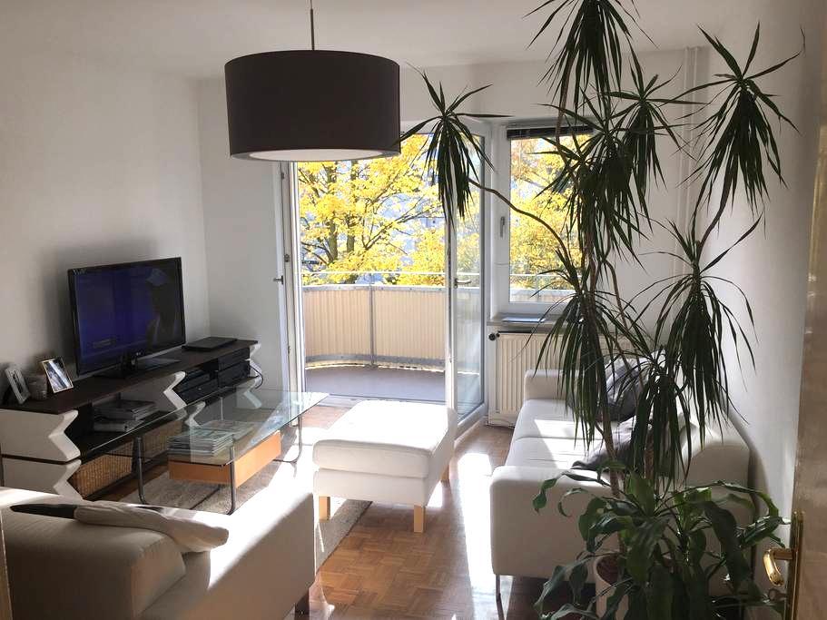 3-Zi-Whg. nahe Zentrum u. Alster - Hamburgo - Apartamento