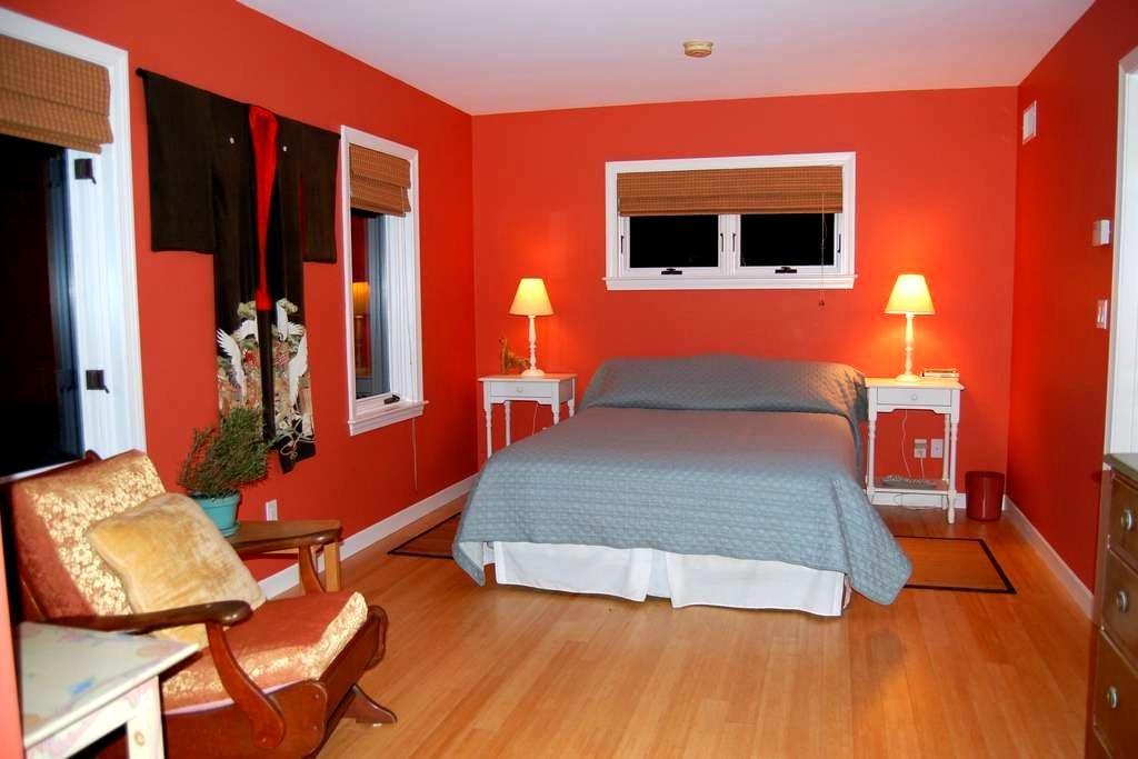 Vermont guest room suite - Tunbridge - House