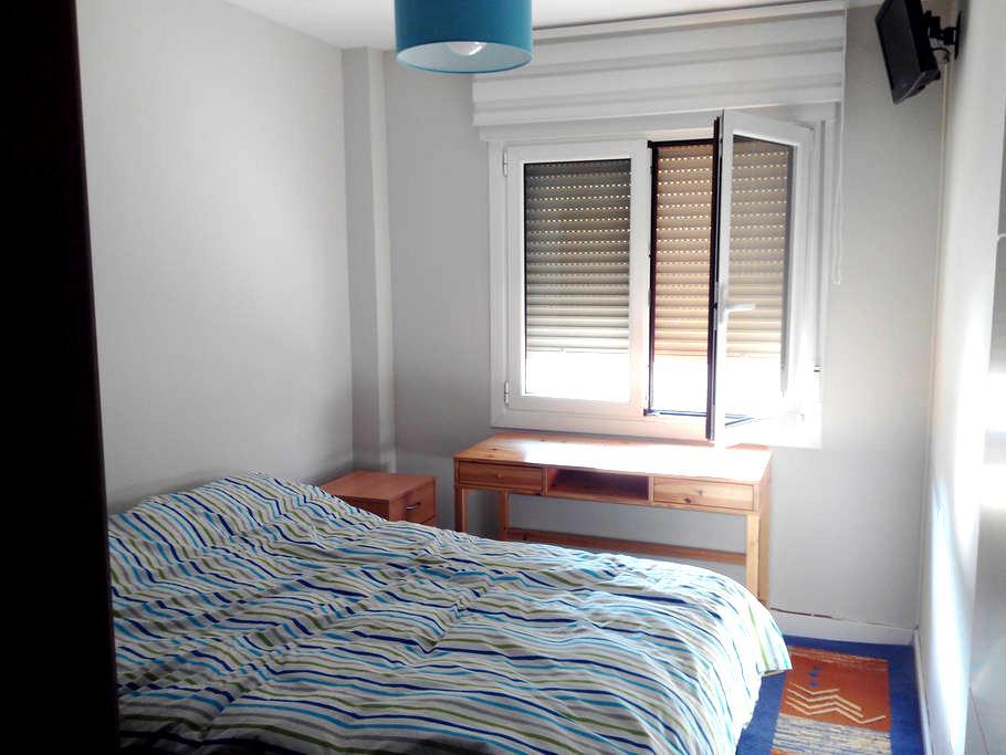 Habitación con cama de 1,35 ,escritorio, tele. - Sodupe