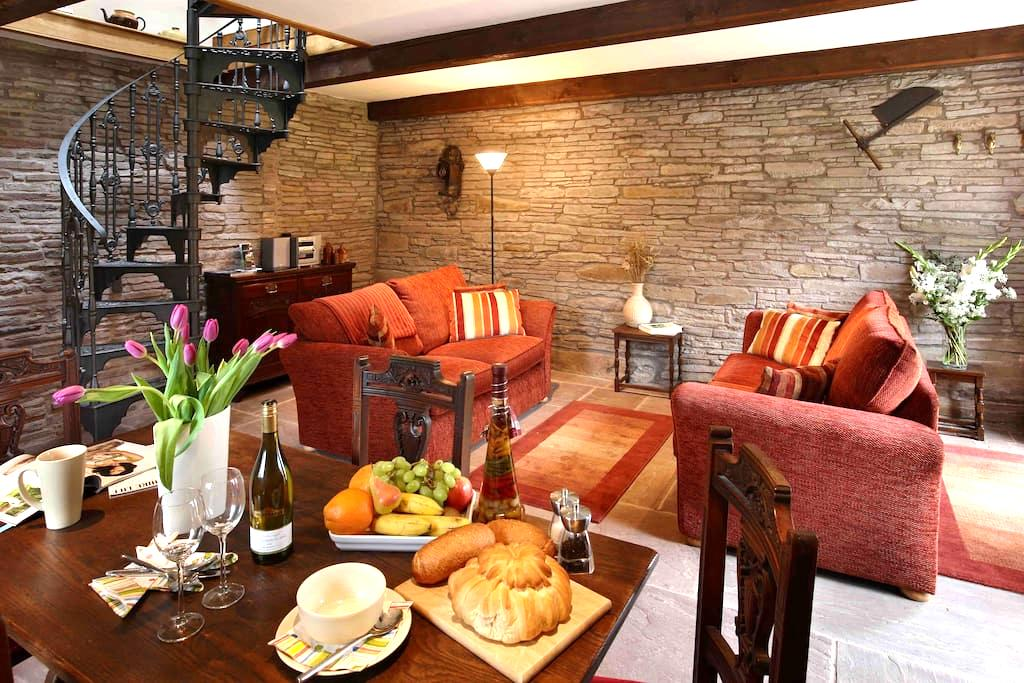 Holt Stable - a hideaway for two. - near Hay-on-Wye - Hus