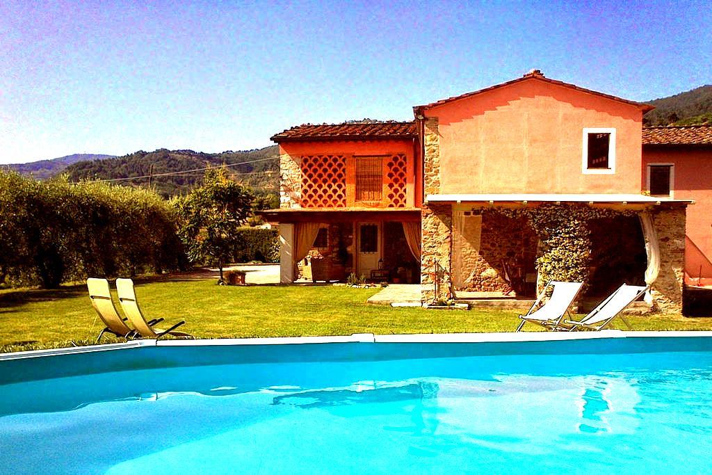 Bella Villa rustica Pool Indipen. - Lucca - Villa