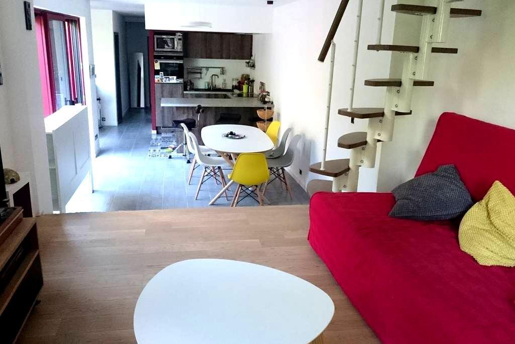 Petite maison en bois avec terrasse et jardin - Nancy - Talo