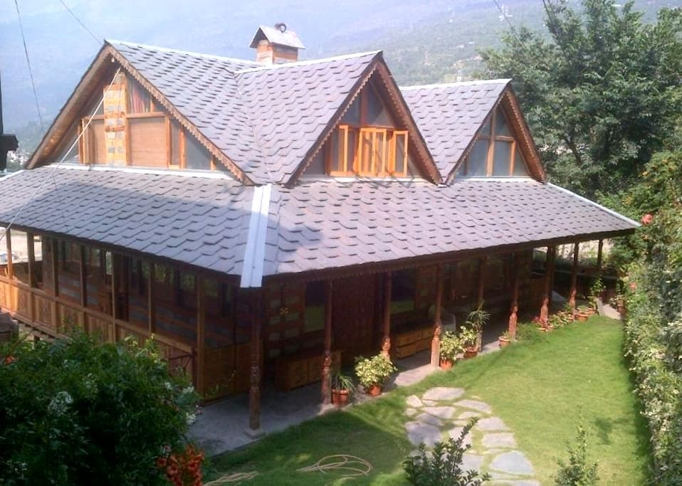 Shobla Royale Cottage Room (Kullu) - Kullu - Chalet