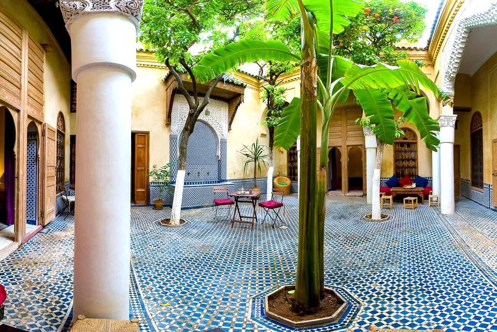 Riad La maison d'à côté - Chambre - Meknes - Bed & Breakfast