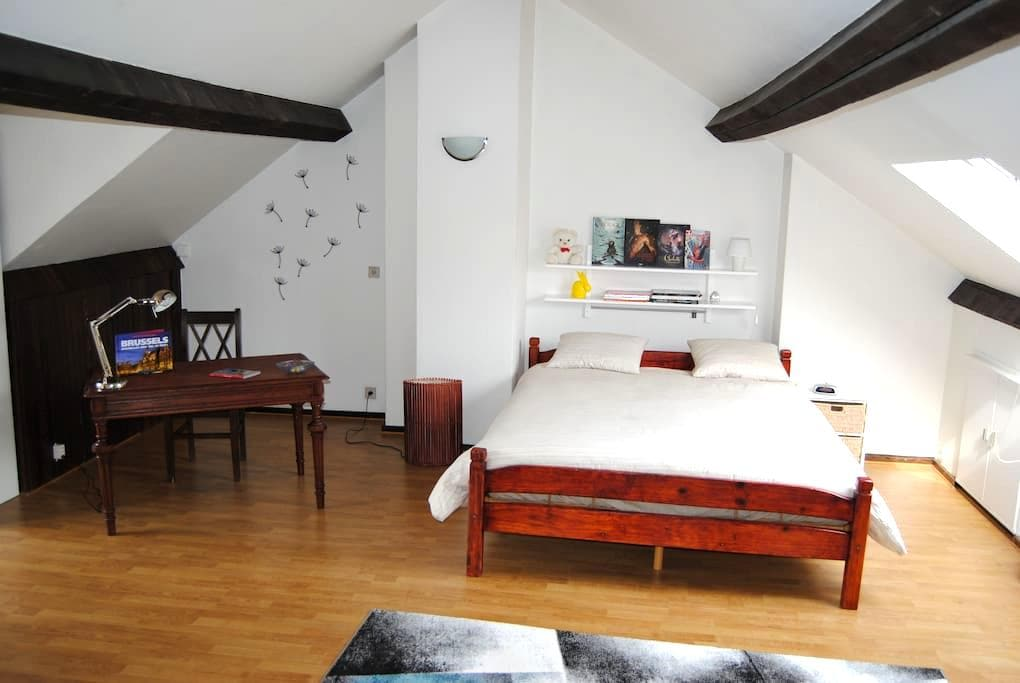 Spacious room - Koekelberg - Apartment
