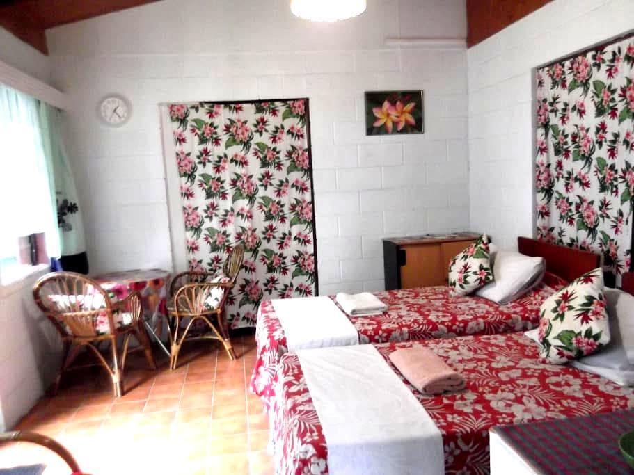 Atupa Orchid Garden Studio - Avarua District - Bungalow