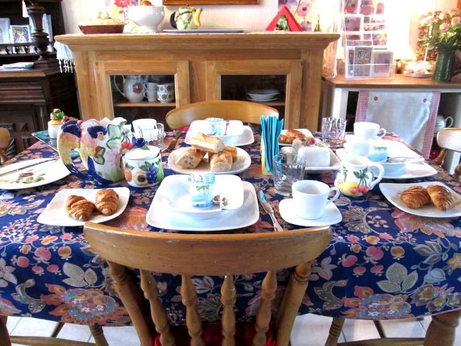 LE TOURNESOL 2 near Mont. St Michel - Pontorson - ที่พักพร้อมอาหารเช้า