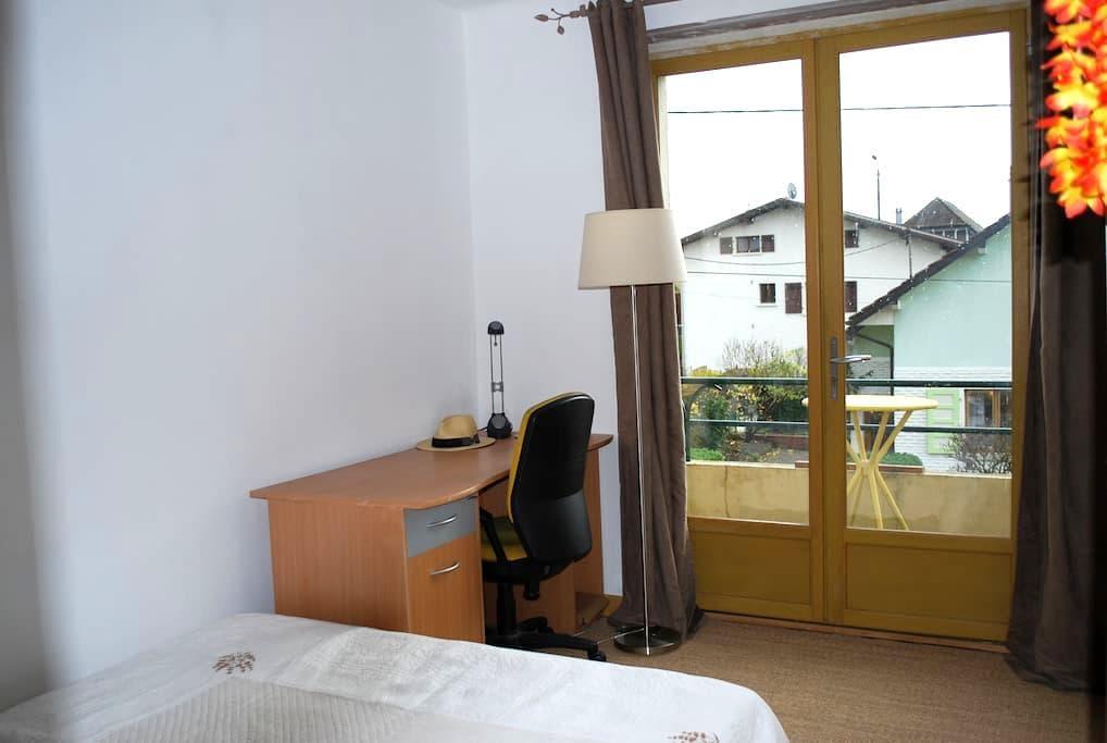 chambre + cuisine-séjour au calme proche de Genève - Gaillard - Casa