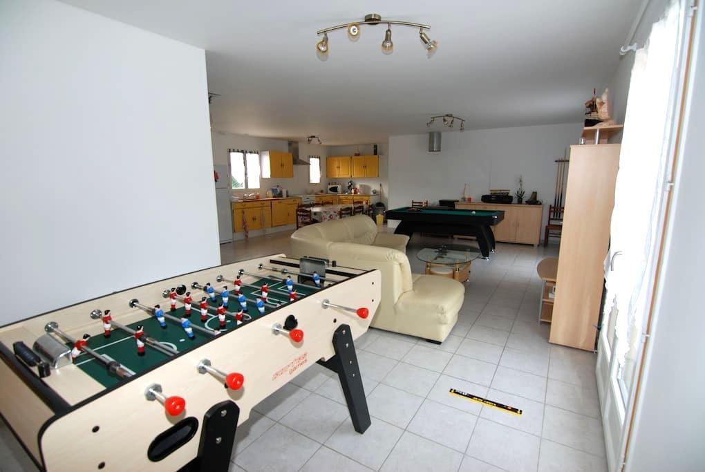 5 chambres meublées - Neuvy-sur-Loire - Rumah