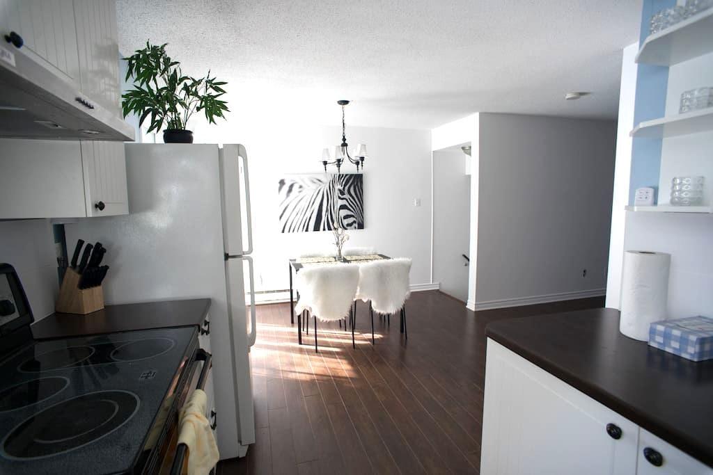 Bright/Clean Condo in the heart of Ottawa/Gatineau - Gatineau - Apartemen