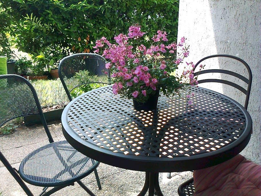 Grazioso mini con giardino in Valle dei Laghi - Vezzano