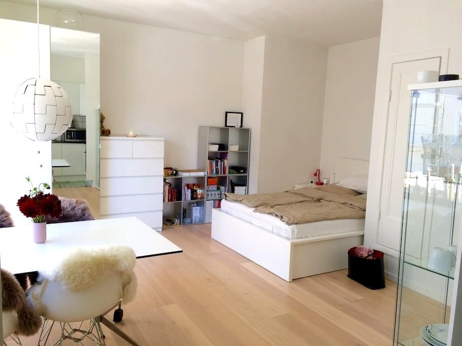 Newly renovated & bright studio apt - Aarhus - Appartement