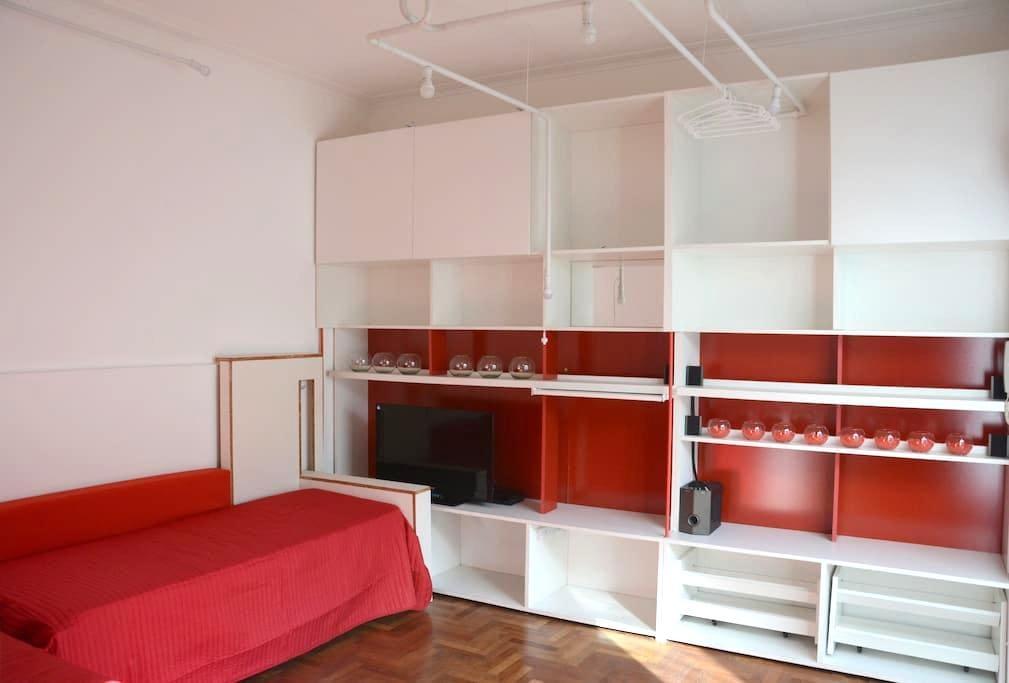 Habitación privada con patio silenciosa y luminosa - La Plata - Appartement