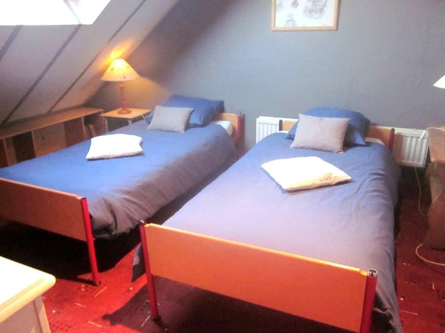 chambres au calme en Ardenne - Fauvillers - Rumah